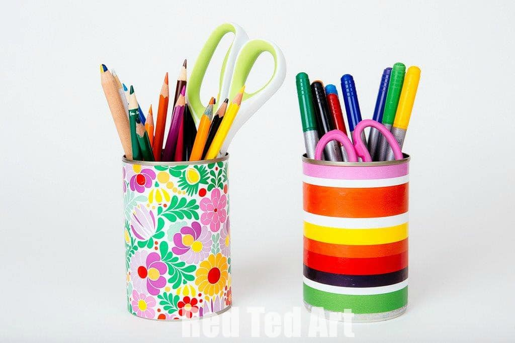 Get Ready For Back To School With Magic Tape Red Ted Art