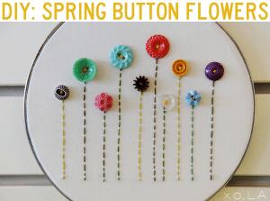 button craft art