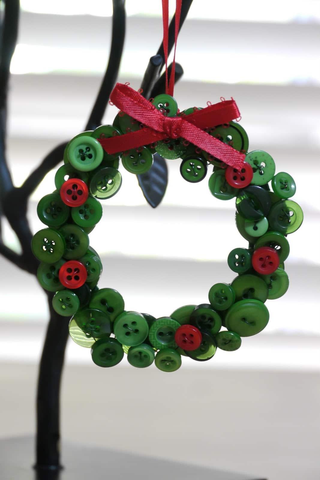 Christmas Wreath Craft Bauble