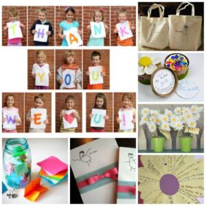 12 Wonderful Teacher Appreciation Gifts that Kids can help make