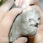 Nature Crafts: Clay Sculptures