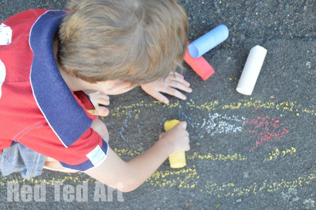 DIY Sidewalk Chalk Recipe