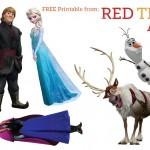 Frozen Characters Free Printable