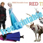 Frozen Characters Free Printable 2