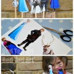 Frozen Crafts - Puppet Printable