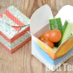 Juice Carton Crafts – Simple Snack Box