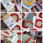 Juice Carton Snack Box craft