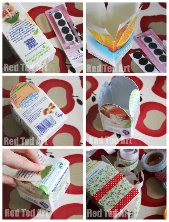 Juice Carton Snack Box craft