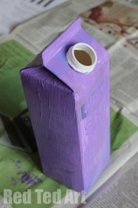 Juice Carton crafts