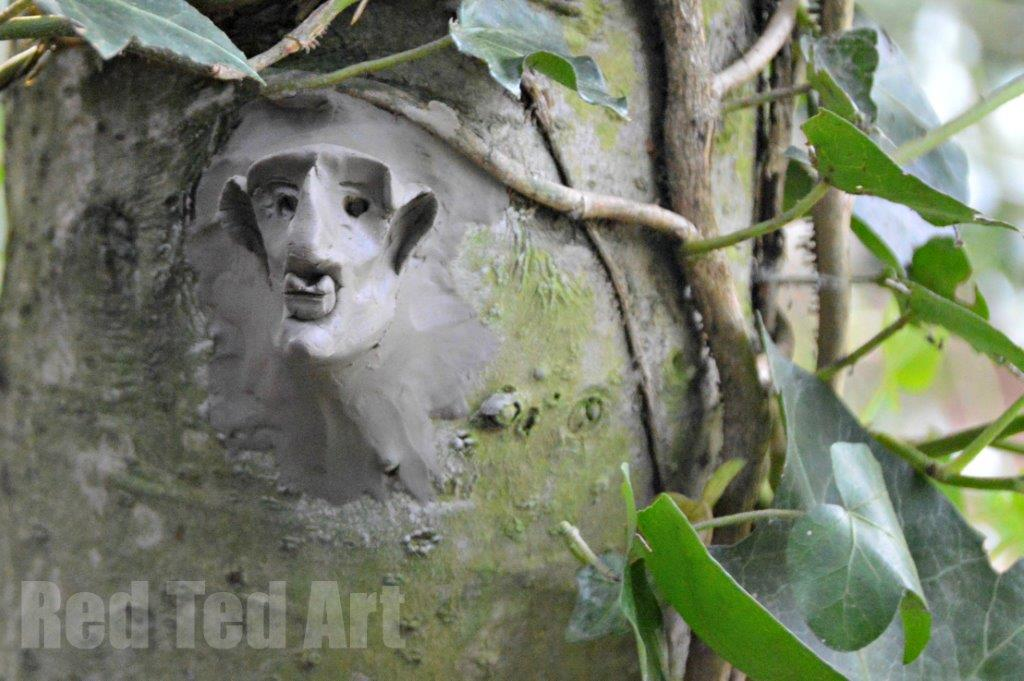 Nature Art Activities - clay sculptures