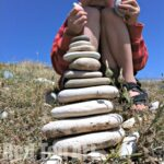 Nature Play Ideas – Building a Cairn