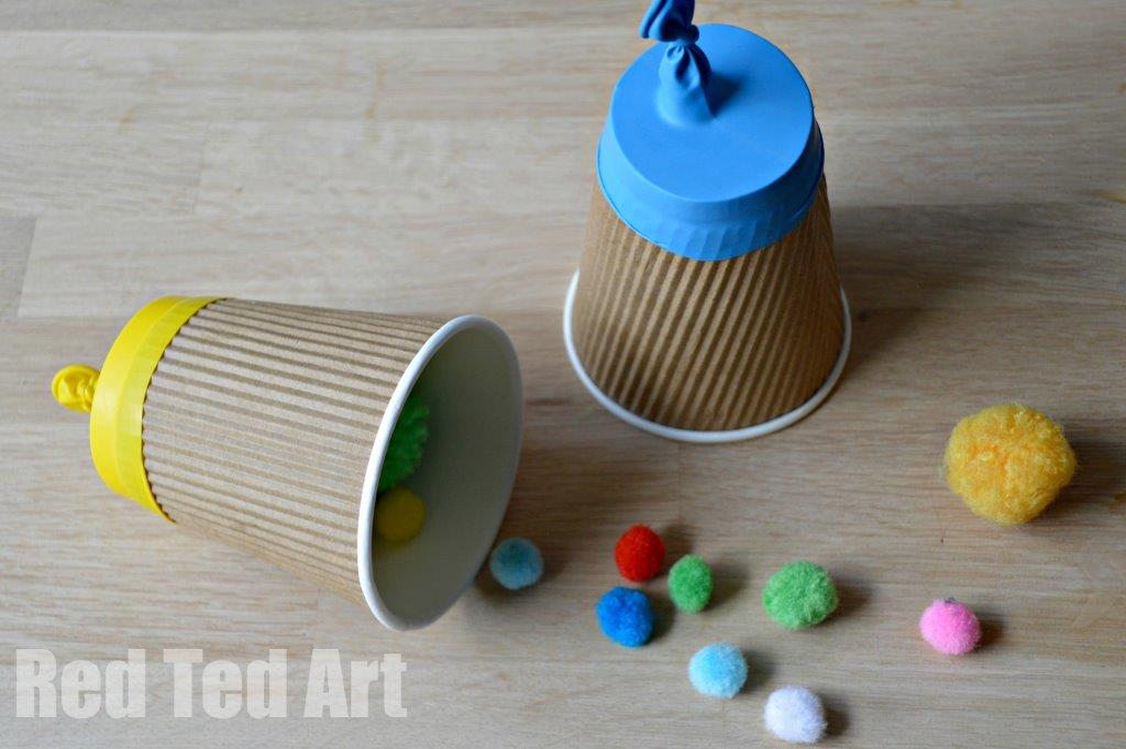 25 Paper Cup Crafts Red Ted Art