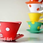 Paper Teacup Craft Printable