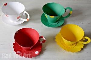 Paper Teacups Craft