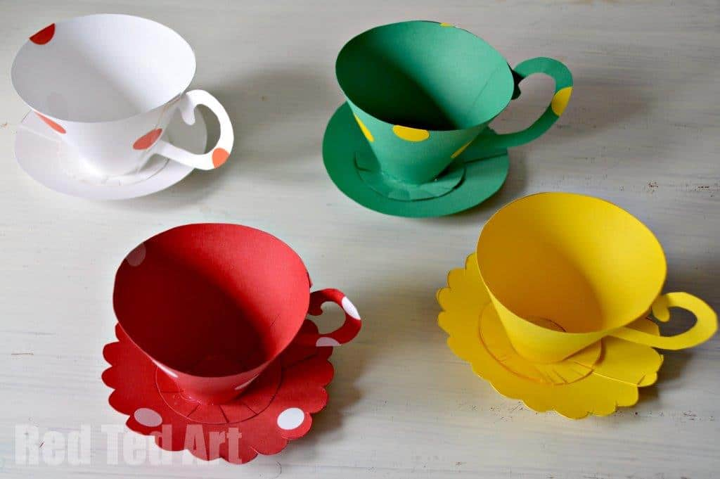 Paper Teacups Craft