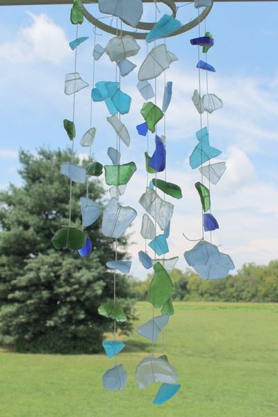 Sea Glass Crafts Seaside Mobile