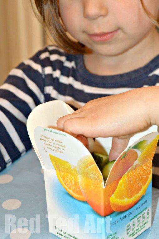 Simple DIY Snack Box Craft