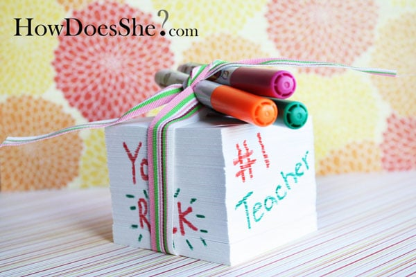 Gift Ideas For Teachers Red Ted Art