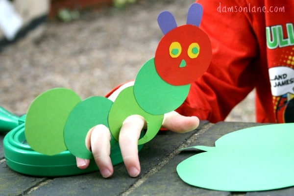 Eric Carle Hungry Caterpillar Butterfly Craft
