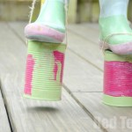 Tin Can Crafts - Stilts for kids