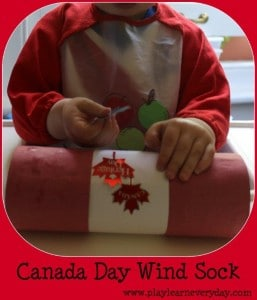 canada day wind sock 1