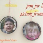 Gifts Kids Can Make: Jar Lid Picture Frames