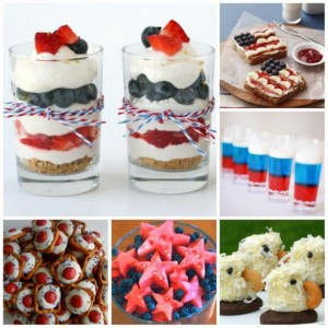 More Patriotic Treats for kids - get your 4th of July Party planning sorted.