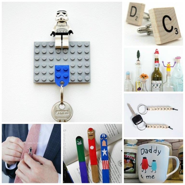 20+ Father's Day Crafts for Kids to Help Make -Father's Day Crafts for Kids - some great Father's Day Gifts that kids can make. We love Father's Day and it is great to make something personal and special. Check out these fabulous Father's Day Ideas for kids.