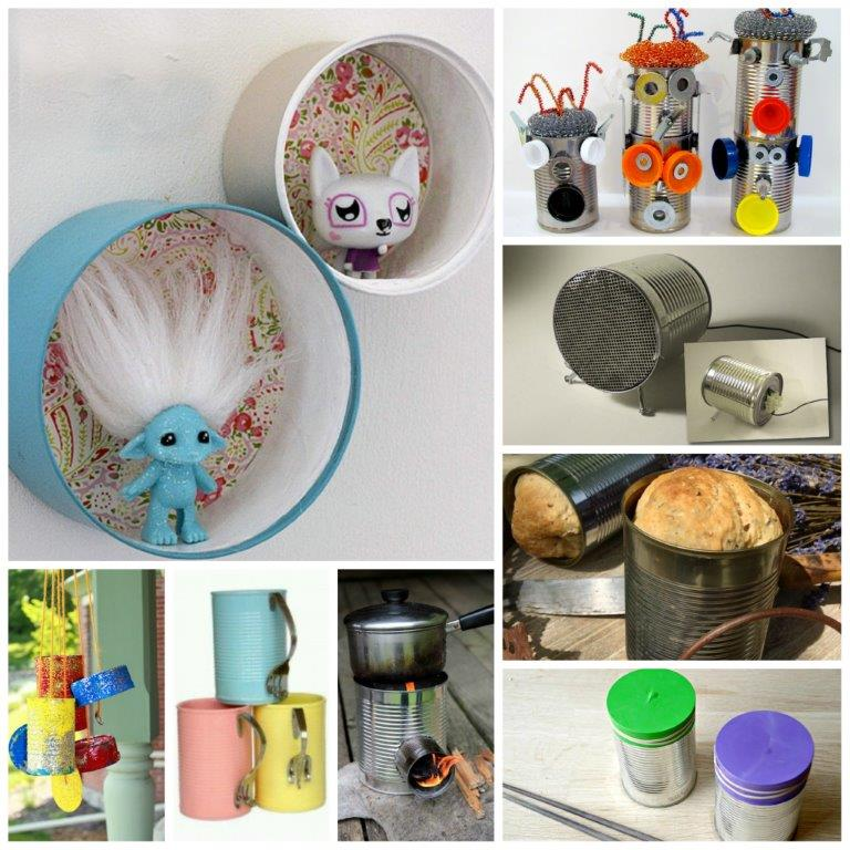 35 Tin Can Crafts