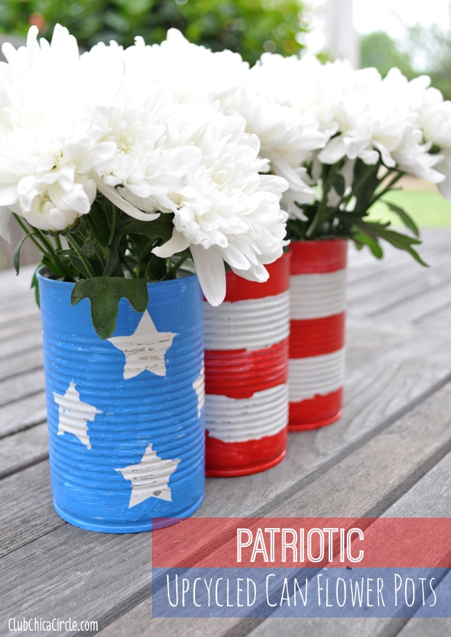 4th july tin can craft