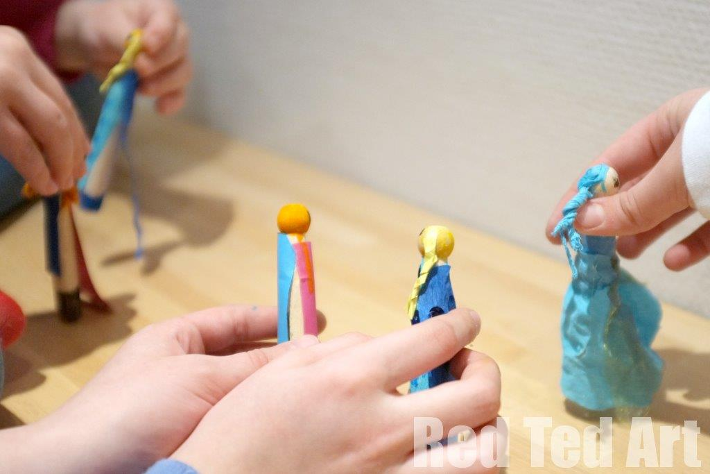 Clothes pin crafts (2)