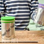 Tin Can Drums for Kids to make in 5 Minutes