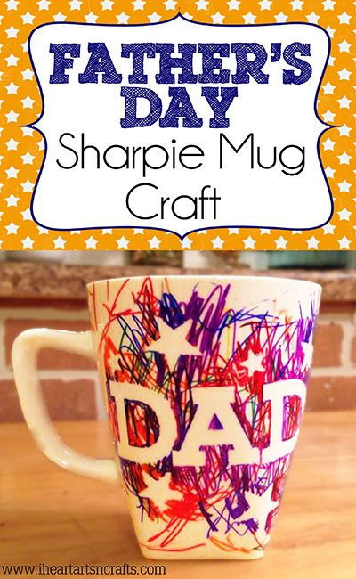 Fathers Day Mugs From Kids Diy