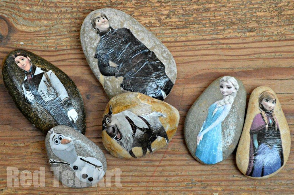 Frozen Crafts - Make your own story stones with this wonderful FREE Printable