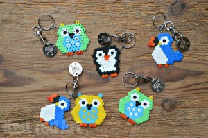 Hama Bead Birds Owl Penguin Puffin