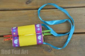Loo Roll Crafts Binoculars