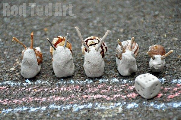 Snail Craft DIY Game