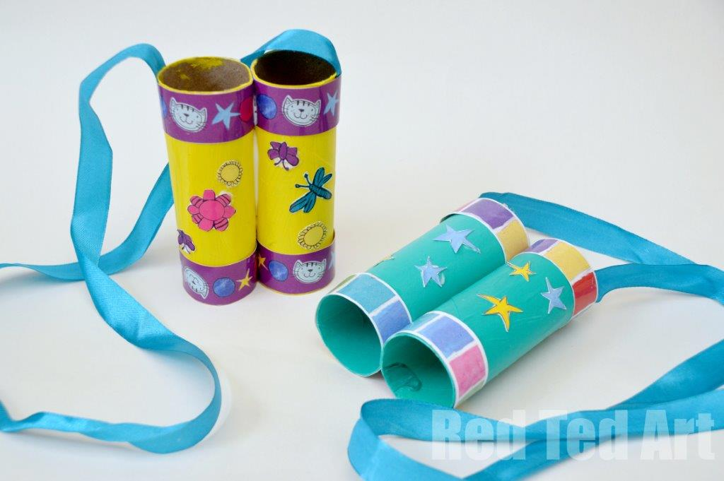 TP Roll Binoculars Craft