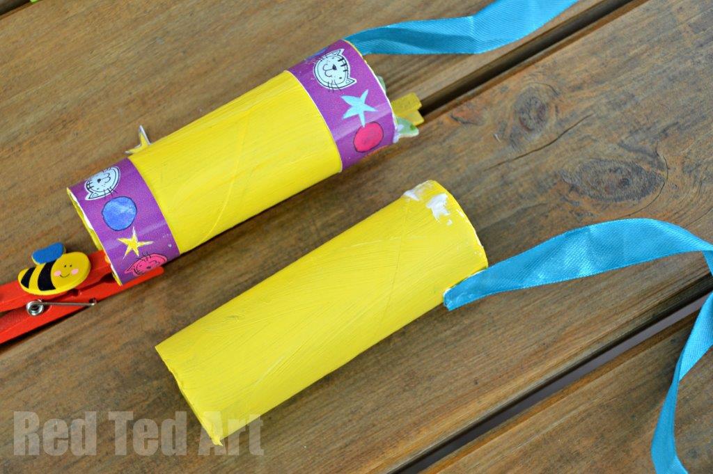 TP Roll Crafts Binoculars for kids