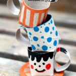 TP Roll Crafts Teacups
