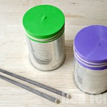 Tin Can Crafts - Drums and shakers - 5 minute craft