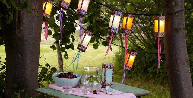 diy outdoor lighting ideas paper garden lanterns 640x325