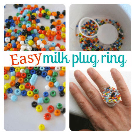 Easy milk plug ring craft for kids page 2 for Easy to make and sell products
