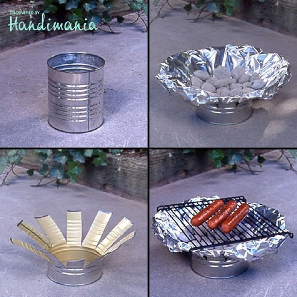 tin can crafts camping