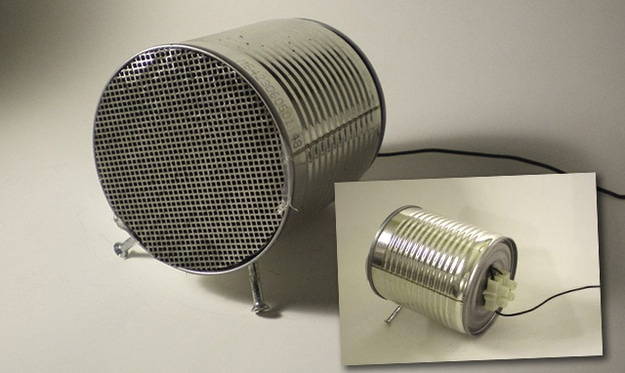 tin can speakers