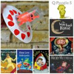 Paper Plate Flying Saucer Craft + 15 Books About Space