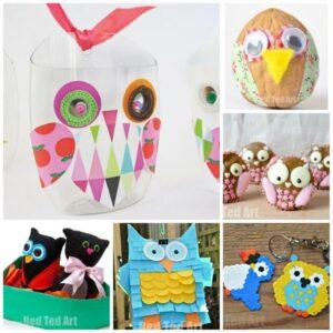 Owl crafts for kids