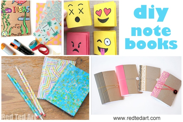 Back to School DIY Ideas - Stationery Crafts - Red Ted Art\'s Blog