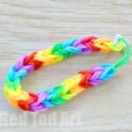 Rainbow Looms: Double Fishtail using your Fingers