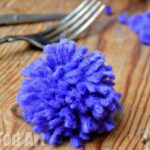 How To Make a PomPom using a Fork